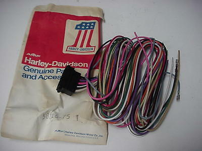 NOS 1980 FXWG Handlebar Switch Wiring Harness 70117-80