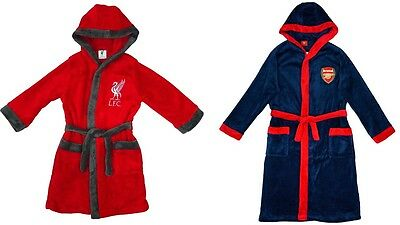 Liverpool or  Arsenal bath Robes  /  Gowns   and  long sleeve pyjama