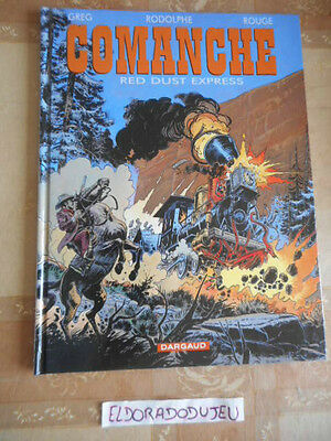 Eldoradodujeu > Bd - Comanche 15 Red Dust Express - Dargaud Eo 2002 Tbe-