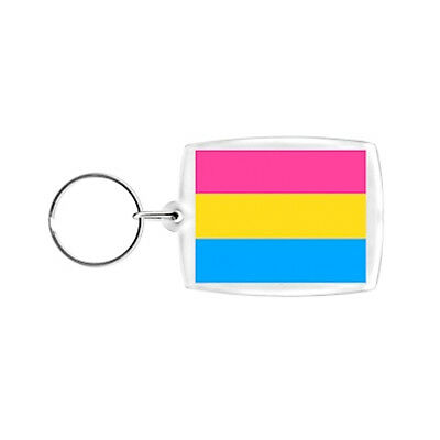 Pride Shack - LGBT Pansexual Pan Pride - Clip on Charm or Keychain (Pan Sexual)
