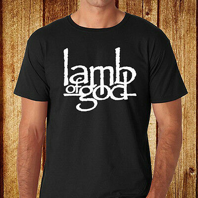 New LAMB OF GOD Metal Rock Band Men's Black T-Shirt Size S-3XL Free Shipping