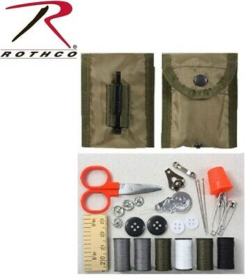 Sewing Kit Military Style Tactical Repair Sewing Kit  W/ Alice keeper Pouch 1121