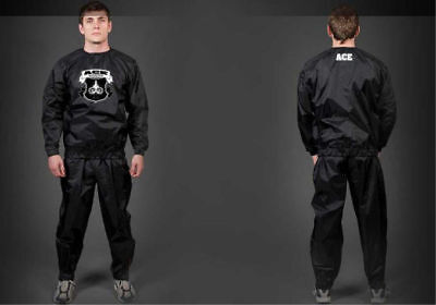 Ace Boxing MMA Muay Thai Sauna Sweat BJJ Suit Weight Lose Equipment Training