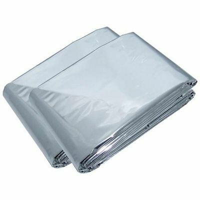 First Aid Survival Rescue Waterproof Foil Emergency BLANKET Thermal Camping UK