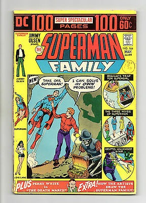 Superman Family Vol 1 No 164 May 1974 (FN+ to VFN-) Giant Size 100 Pages