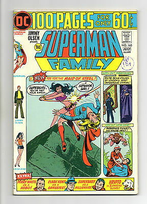 Superman Family Vol 1 No 165 Jul 1974 (VFN+) Giant Size 100 Pages, Bronze Age