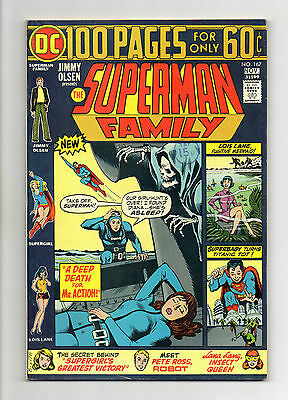Superman Family Vol 1 No 167 Nov 1974 (VFN+) Giant Size 100 Pages, Bronze Age