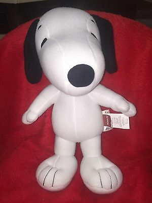 """Peanuts Charlie Brown Snoopy Musical Cuddle Pillow 18"""" Plush Beagle dog NEW!"""