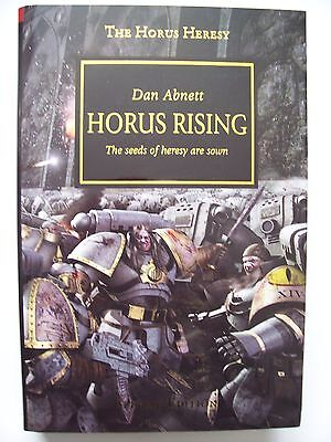 HORUS RISING HARDBACK BOOK -SPECIAL EDITION-2006-1st edition,1st printing.RARE.
