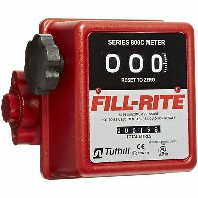 Fill-Rite Fuel Meter 807C1 1'' MNPT 5-20 gpm, Tuthill Fuel Meter Mechanical