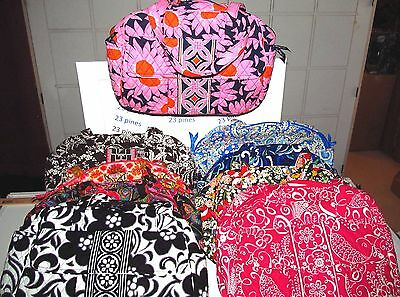 Vera Bradley New Baby Diaper Bag Xl Tote Choice Retired Patterns Nwt