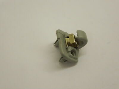 Audi A4 B8 Q5 Sun Visor Hook Clip Light Grey New Genuine 8U0857562J50