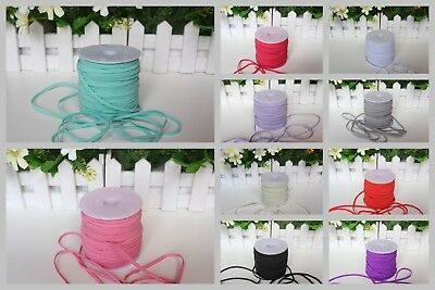"Wholesale Skinny Elastic Band by Yard 1/8"" 3mm Width Stretchy DIY Baby Headband"
