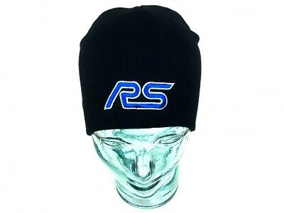 Richbrook Offical Ford Rs Black Beanie Hat Cap
