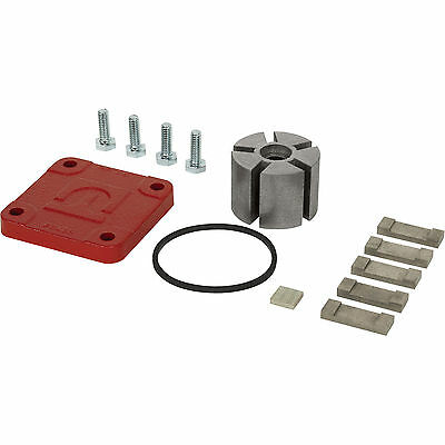 Fill-Rite Fuel Pump KIT120RG Rebuild Repair Kit with Rotor, Vanes, Cover, Gasket