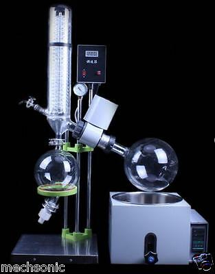 220V 5L Rotary Evaporator Rotavapor Lab equipment RE501 Updated s