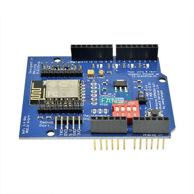 ESP-12E ESP8266 UART WIFI Wireless Shield for Arduino UNO R3