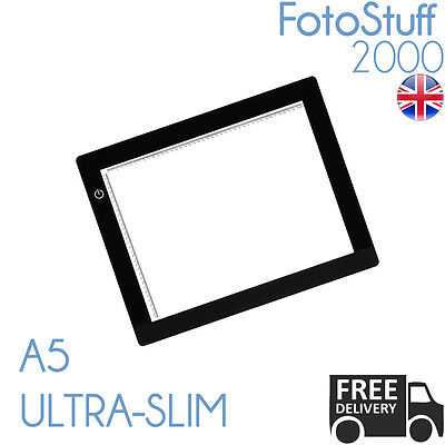 A5 LED Ultra Slim Light Box Dimmable Photographic 5600K A5 Light Pad Light Panel