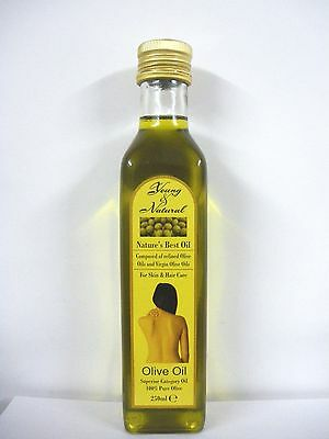 100 % Pure Olive Oil For Skin & Hair Natures Best Oil (2 Sizes)