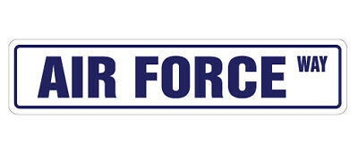 AIR FORCE Street Sign new military road cadet gift
