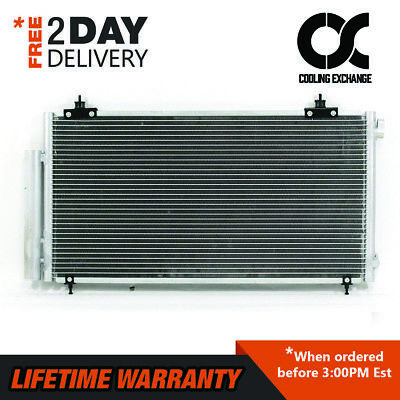 3280 New Condenser For Toyota Celica 2003 2004 2005 1.8 L4 Lifetime Warranty