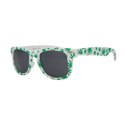 c126393b43e5 MARIJUANA SUNGLASSES POT Leaf Funny Glasses Green Reefer Plastic ...
