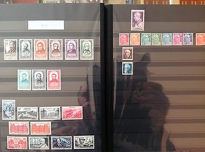 FRANCE complete year set 1948 MNH 30 stamps