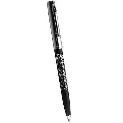 Rite in the Rain 37 All-Weather Chrome/Plastic Standard Clicker Pen, Black Ink
