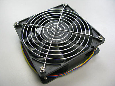 Bitmain Antminer S5 4 PINS 4500 RPM Replacement Fan with Stainless Steel Grill