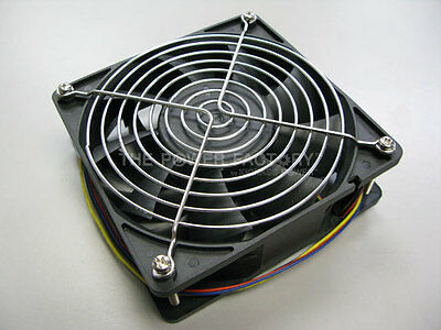 Bitmain Antminer S7 4 PINS 4500 RPM Replacement Fan with Stainless Steel Grill