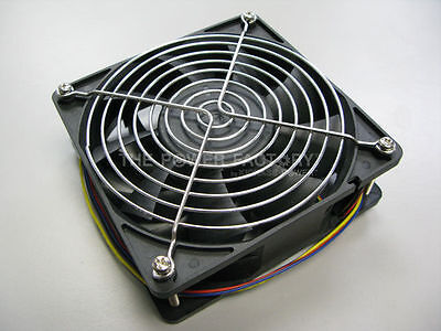 Bitmain Antminer S3 4 PINS 4500 RPM Replacement Fan with Stainless Steel Grill