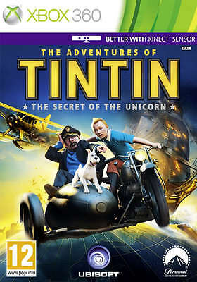 The Adventures of Tintin: The Secret of the Unicorn ~ XBox 360 (Good Condition)
