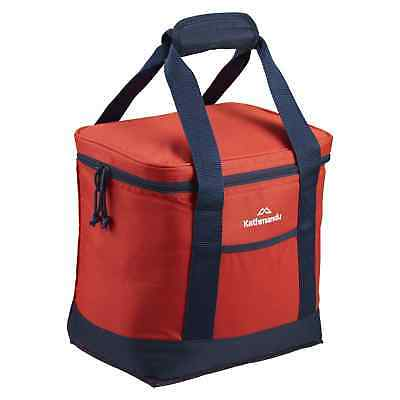Kathmandu Soft Insulated 12L Cooler Bag Portable Picnic Food Storage Box Red New