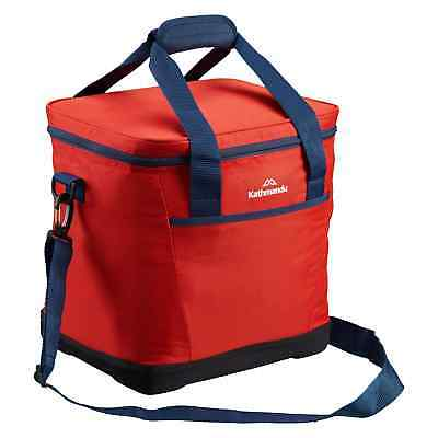 Kathmandu Soft EVA Insulated 21L Cooler Bag Portable Picnic Food Storage Box Red