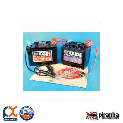 Piranha Portable Welding Kit - Arc - 12Vwk