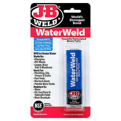 J-B Weld WaterWeld Epoxy Putty - JB Weld - Single