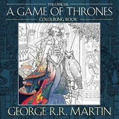 The Official A Game of Thrones Colouring Book by George R.R. Martin NEW