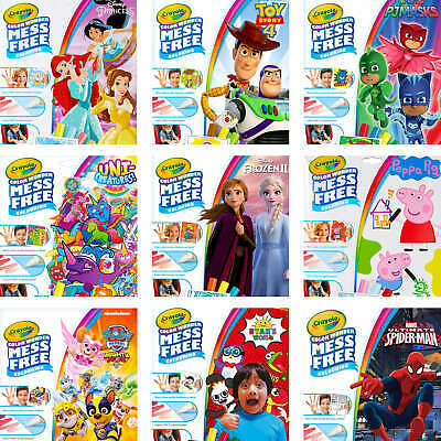 Crayola Color Wonder Set - Various Themes and Characters - Mess Free Colouring
