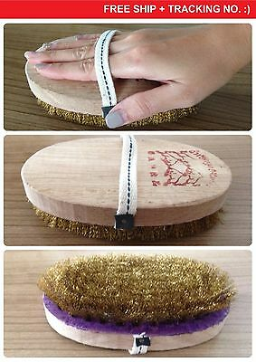 Cleaning Brush Brass Wire Brush Oval Shape