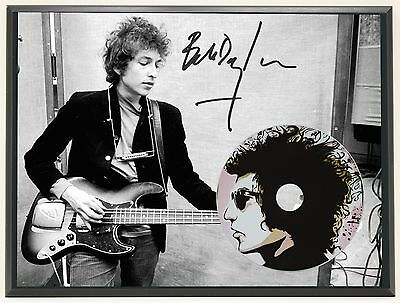 Bob Dylan Ltd Edition Signature Series Picture Cd Display Gift