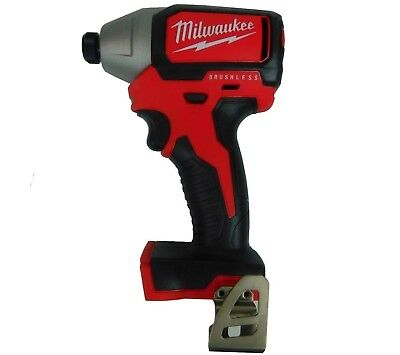 "New Milwaukee 2750-20 M18 1/4"" Hex Brushless Impact Driver New Model of 2656-20"