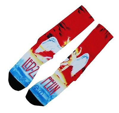 Led Zeppelin Swan Song Streetwear Footwear Socks #C126
