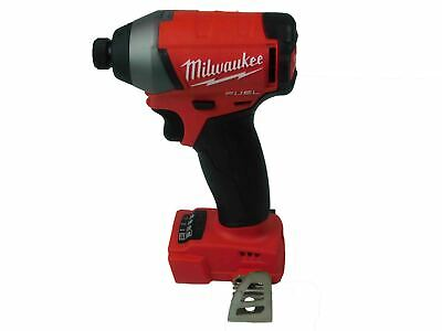 New Milwaukee 2753-20 M18 FUEL 18V LithiumIon Brushless 1/4 in Hex Impact Driver
