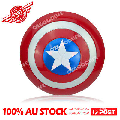 captain America Shield Flash Light Voice Kids Gift Party Cosplay 32 cm Xmas gift