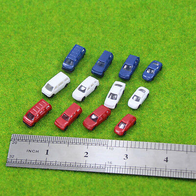 50PCS Model Cars 1:200 Z Scale for Model Train Layout Free Shipping NEW