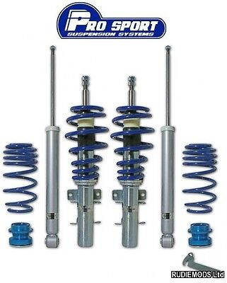 Prosport Ford Fiesta Mk7 2008 Onward 1.0 petrol ecoboost Coilover Lowering Kit