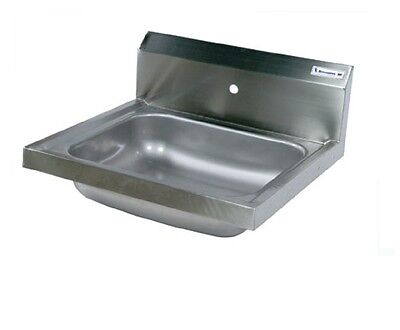 "16"" x 20"" T-304 Stainless Steel Hand Sink NSF, Commercial BBKHS-W-1620-1"