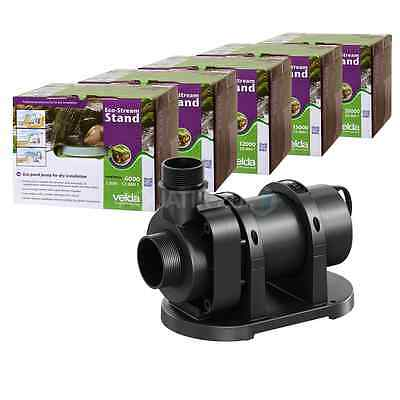 Velda Eco-Stream Stand Low Wattage Pond Water Pump Submersible Or Dry Mount