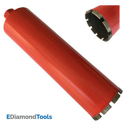 "4"" Wet Diamond Core Drill Bit for Concrete Granite Coring 1-1/4""-7 Arbor"
