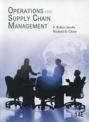 Operations and Supply Chain Management 14th Internatioanl Edition